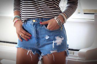 Как обрезать джинсы под шорты в домашних условиях?