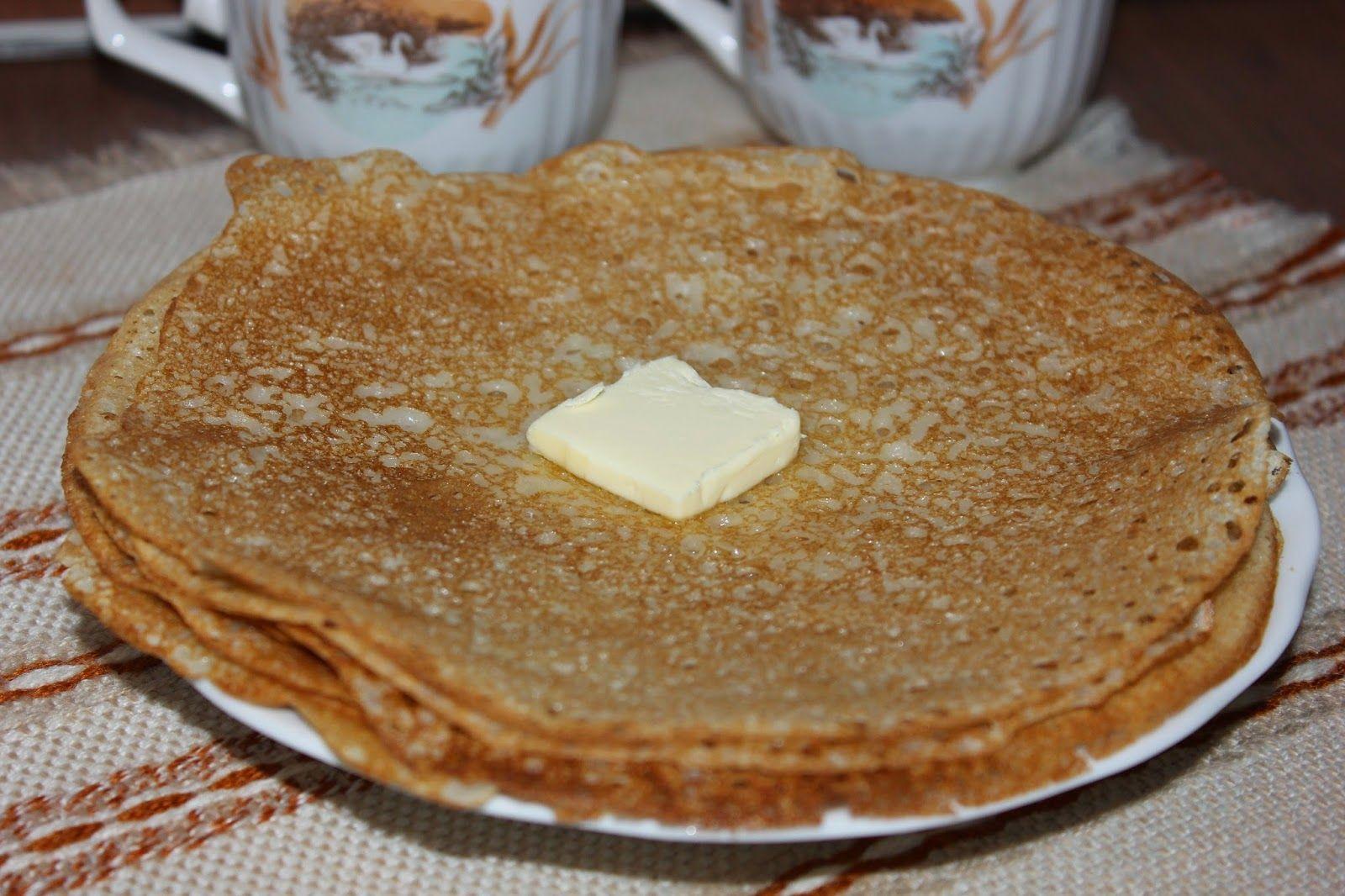 Блины на молоке с водой - рецепт пошаговый с фото