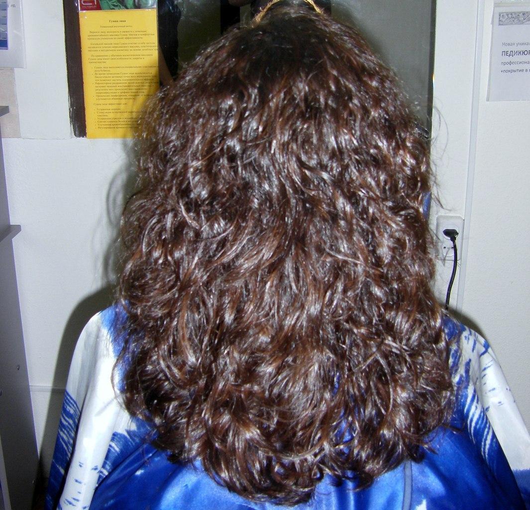 Биозавивка волос: Карвинг