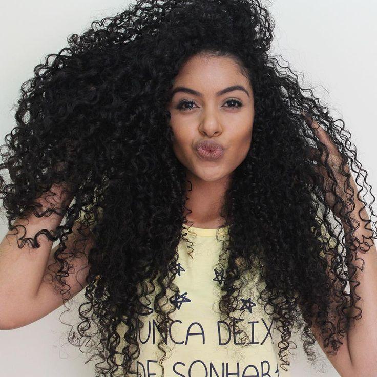 Биозавивка волос: Афростиль
