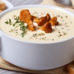 Суп - крем из лисичек