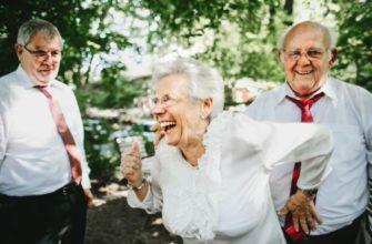 Шумный праздник в золотую свадьбу