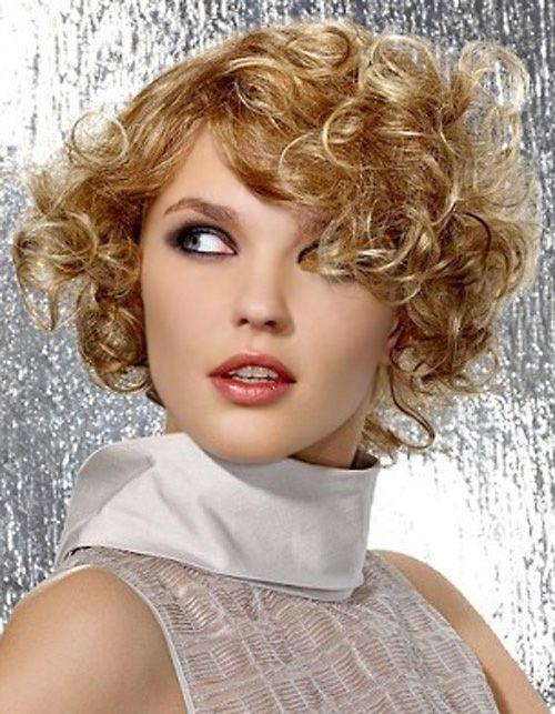 стрижка пикси на кудрявые волосы