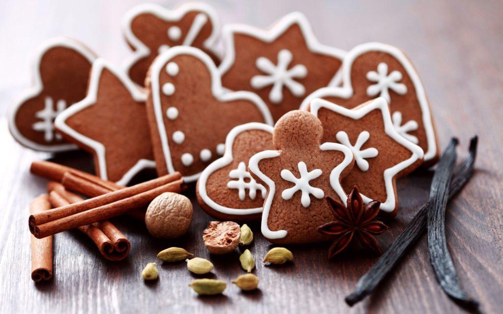 Имбирное печенье ко дню влюбленных