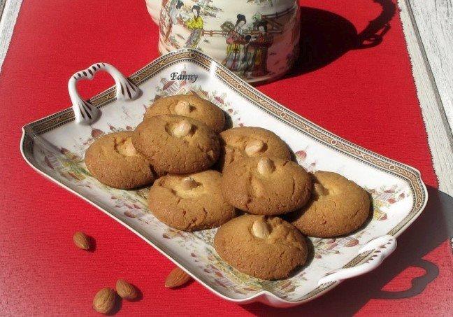 Имбирное печенье с миндальным орехом