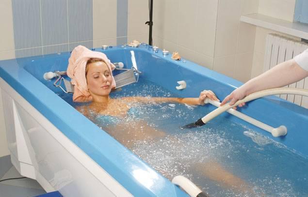 Что такое радоновые ванны