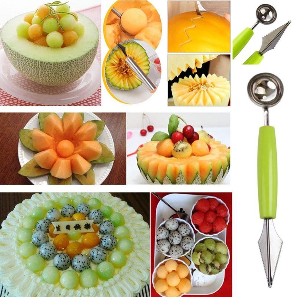 Чем режут фрукты для букетов профессионалы
