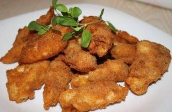 Куриная печень в кляре рецепт