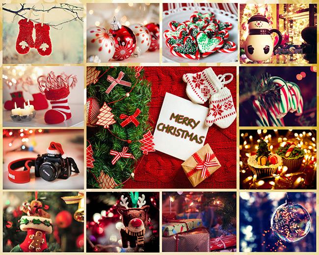 Картинки новогодние коллаж
