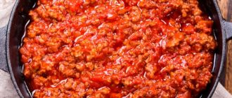 Что входит в состав знаменитого соуса болоньезе?