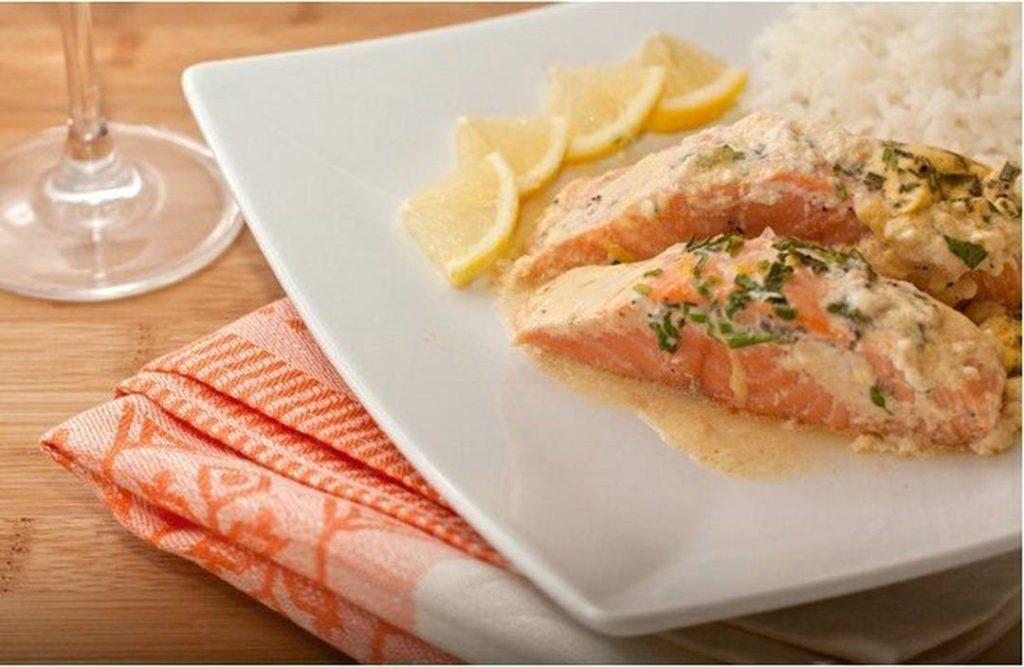 Тартар к рыбе (для семги)