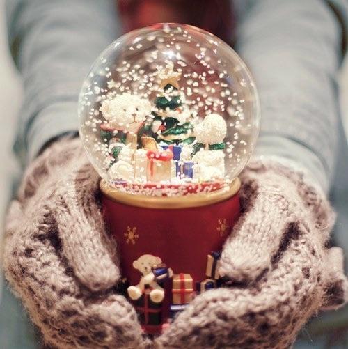 Сувенир: снежный шар