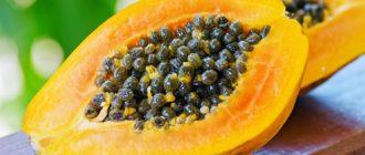 Как выглядит и где растёт папайя