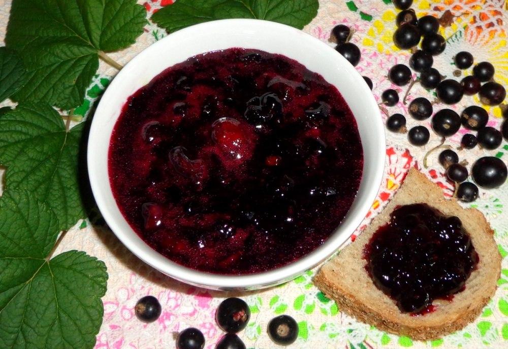 Варенье из черной смородины и крыжовника - пошаговый рецепт