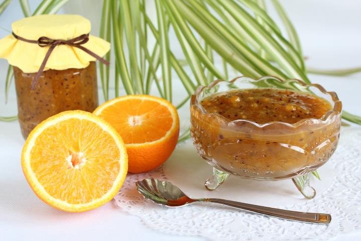 Апельсиново-крыжовниковое варенье