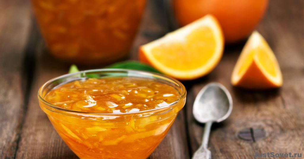 Варенье из крыжовника с апельсином и лимоном