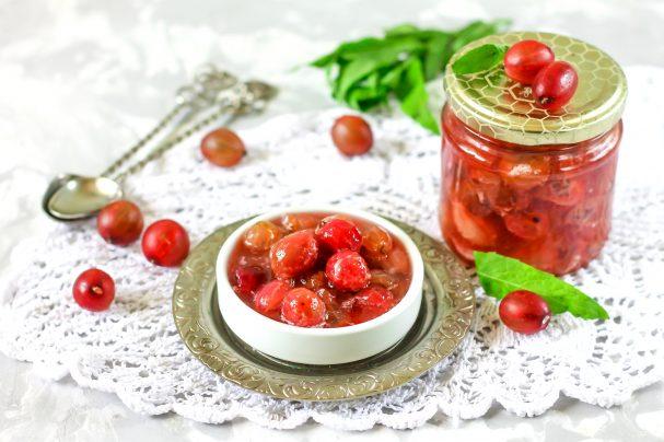 Варенье из крыжовника «Пятиминутка» - пошаговый рецепт с фото